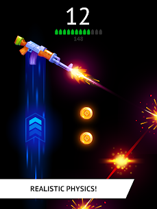 Flip the Gun – Simulator Game Mod Apk (Unlimited Coins) 8