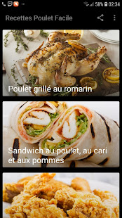 Download Recettes Poulet Facile For PC Windows and Mac apk screenshot 1