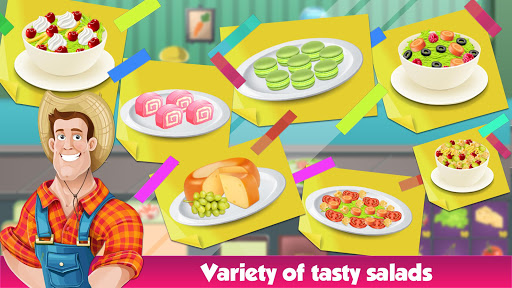 Salad Bar Manager Frenzy: Food Cafe Manager 1.0.5 screenshots 10