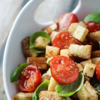 Caprese Panzanella (Bread Salad).