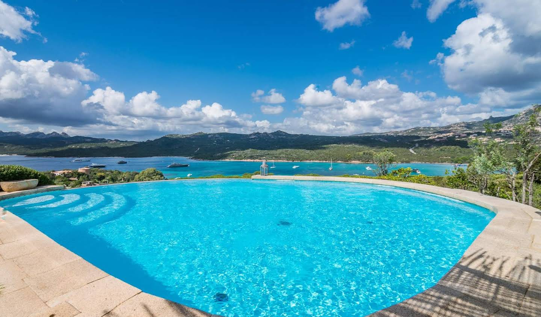 Villa avec jardin et terrasse Cala di Volpe
