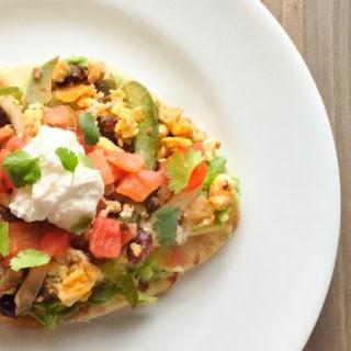 Breakfast Taco Flatbread (Naan)