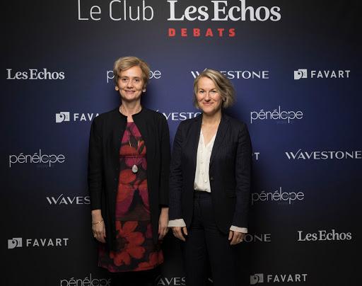 Club Les Echos Débats avec Anne Rigail - Wavestone