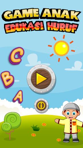 Game Anak Edukasi Huruf screenshot 1
