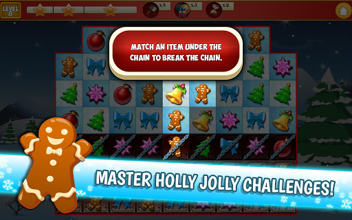 Christmas Crush Holiday Swapper Candy Match 3 Game 1.35 screenshots 20