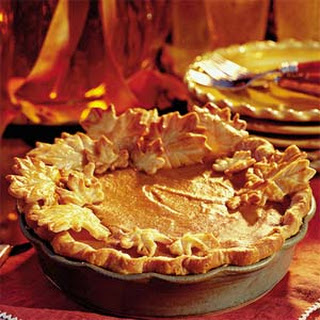 Elegant Pumpkin-Walnut Layered Pie