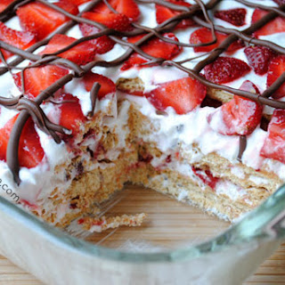 No-Bake Strawberry Icebox Cake.