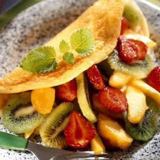 Breakfast Fruit Omelette Recipes.
