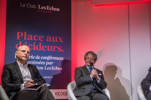 Club Les Echos Débats avec Dominique Moisi