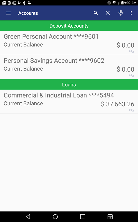 Greater State Bank Mobile- screenshot