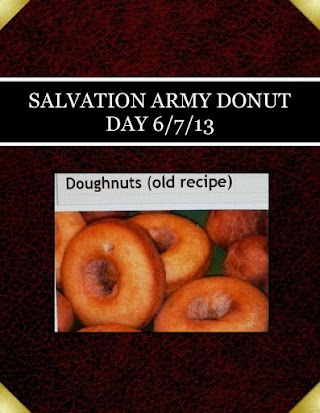 SALVATION ARMY  DONUT DAY 6/7/13