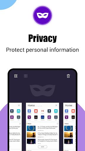 Phoenix Browser -Video Download, Private & Fast screenshots 6