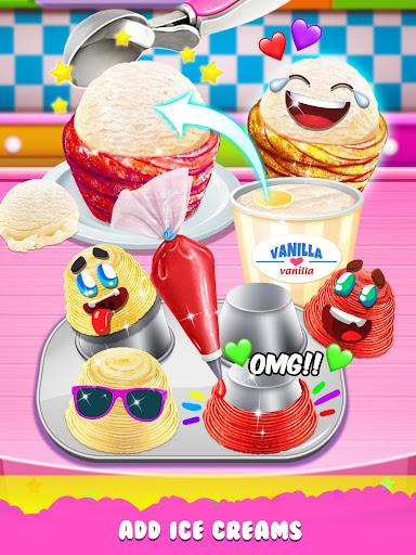 Churro Ice Cream - Summer Icy Desserts