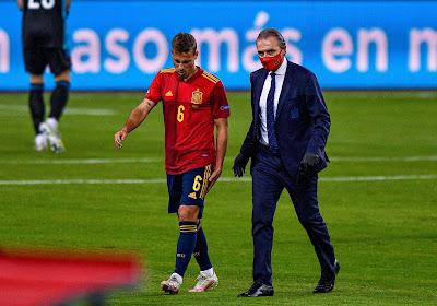 Plusieurs mois d'absence pour un international espagnol