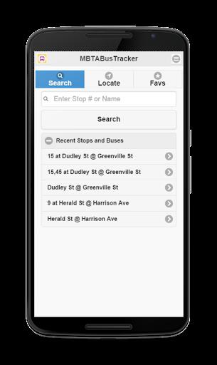 MBTA Bus Tracker  screenshots 1