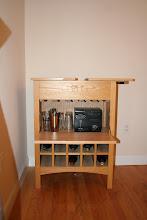 Photo: $150 Crate & Barrel – Natural Wine Cart