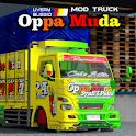 Livery Bussid Mod Truck Oppa Muda Complete icon