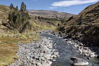 Photo: Río Colca a la altura del Puente Cervantes Yanque, Caylloma - Arequipa