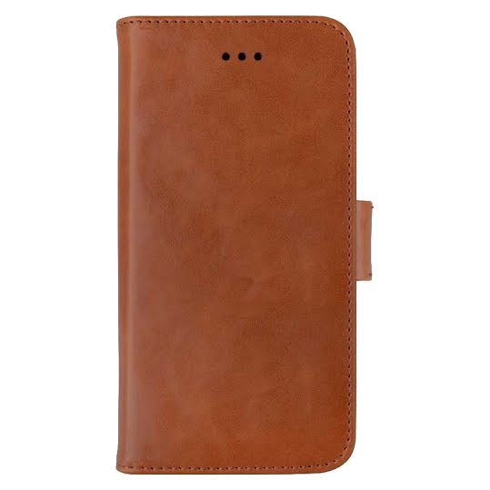 Key Premium Fixed Wallet iPhone X Brun