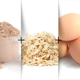 Oatmeal Protein Pancakes.