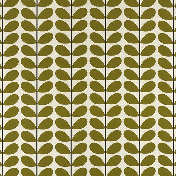 Two Colour Stem av Orla Kiely - olive