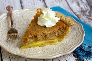 Peanut Butter Buttermilk Pie Recipe