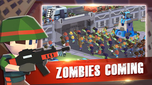 Zombie War : games for defense zombie in a shelter 1.0.3 screenshots 12