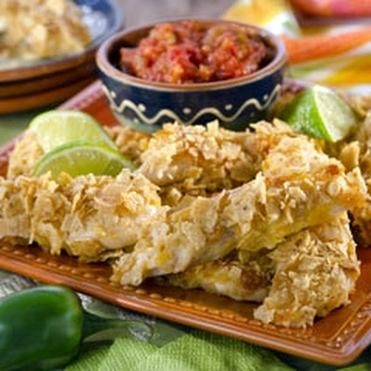 Chipotle-Lime Crusted Chicken Tenders Recipe