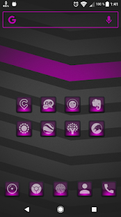 Dera Pink - Icon Pack Screenshot
