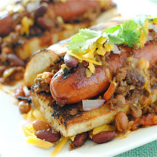 Gourmet Chili Dogs.