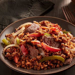 Steak & Peppers Brown Rice & Quinoa