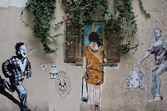 Photo: Street art -Sampsa - EZK - - - Sobr  -Paris XIIIe -La butte aux cailles