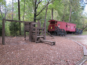 Photo: Playground by the Caboose