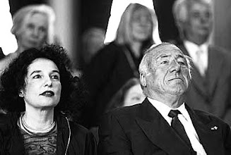 Photo: SIEGFRIED UNSELD WITH HIS SECOND WIFE, AND SUCCESSOR AS PUBLISHER, ULLA MUELLER-BERKOVITZ-UNSELD