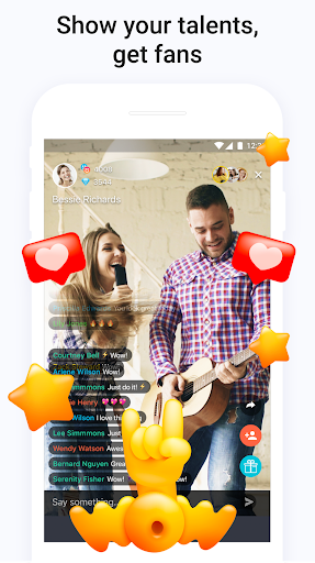 Tango - Live Video Broadcasts and Streaming Chats screenshot 1