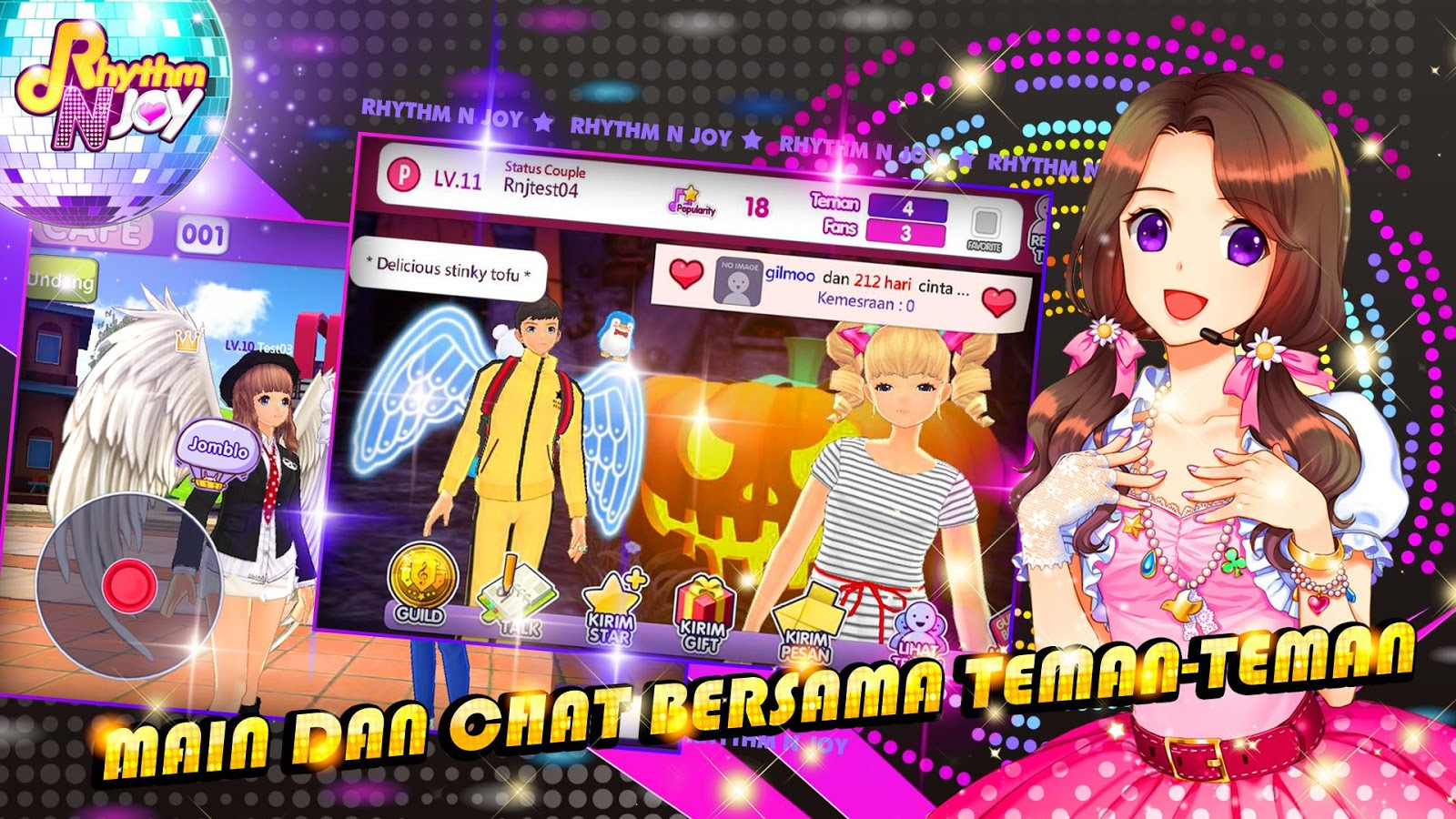 Rhythm N Joy Sahabat Cinta Apl Android Di Google Play