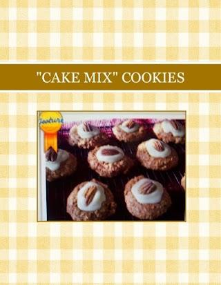 """CAKE MIX"" COOKIES"