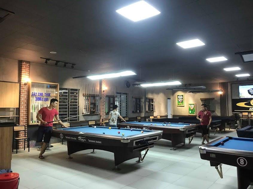 thiết kế thi công quán billiards ấn tượng