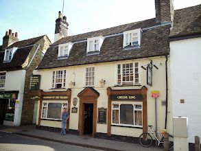 Photo: Champion of the Thames is an attractive Greene King pub in Cambridge.