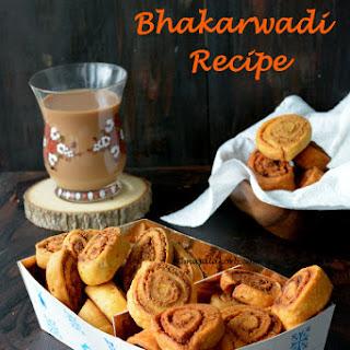 Maharashtrian Bhakarwadi Recipe   Baked & Fried Bakarwadi   Holi Recipes