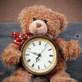 Teddy Clock by Shawn Thomas - Artistic Objects Still Life