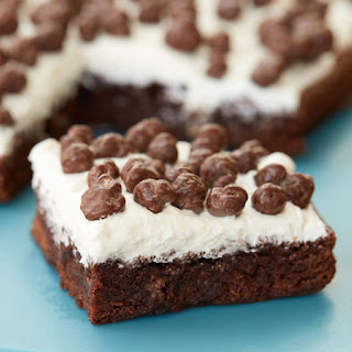 Double Crunch Marshmallow Brownies.