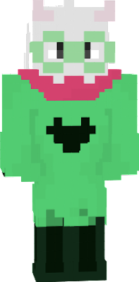 I know I know I didn't use my selfmade Ralsei for this. it's just this did what I wanted to do in a better way. so Here you got it.