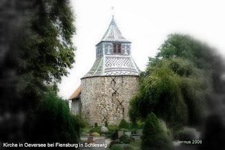 Photo: Kirche in Oeversee bei Flensburg in Schleswig  Familienforschung in Norddeutschland   http://jennus.beepworld.de/ahnenforschung.htm