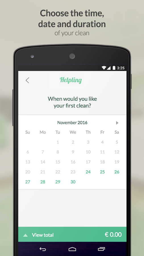 Helpling - Book Home Services- screenshot