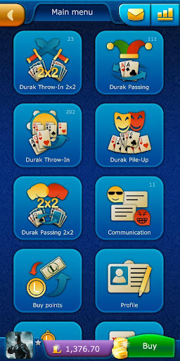 Durak LiveGames - free online card game 3.87 screenshots 1