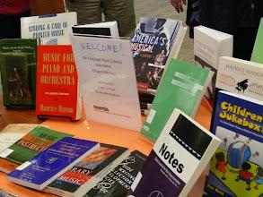 Photo: Special NEMLA DisplayBeatley Library, Simmons College
