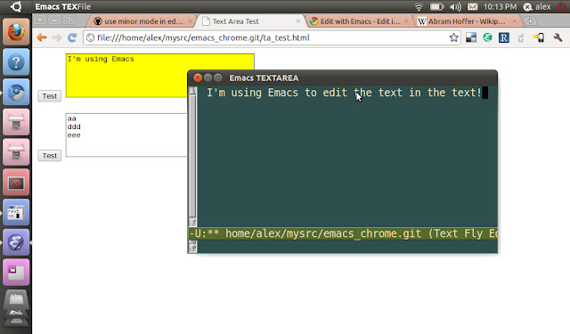 Edit with Emacs