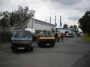 Photo: Treffpunkt, warten auf die Teilnehmer