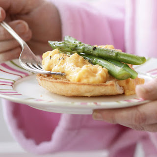 Scrambled Eggs with Asparagus.